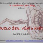 3. konference pro ženy, Kroměříž, 9.–11.6.2017